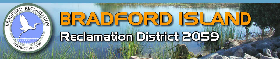 Bradford Island Reclamation District 2059